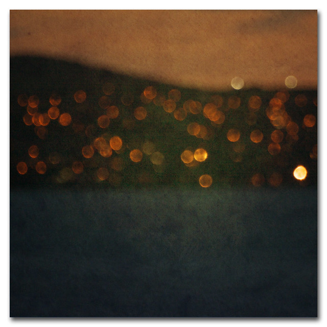 St Ives bokeh abstract