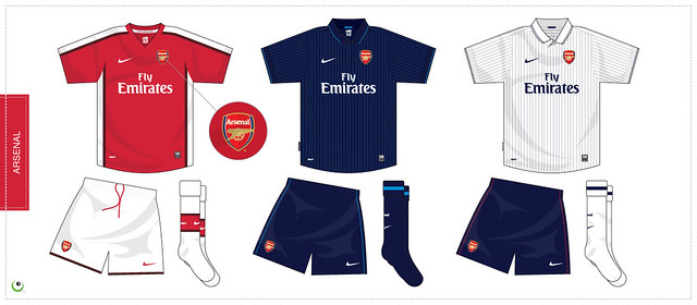 newest fba26 63fc2 Arsenal kit 2009/2010 | Sergio Scala | Flickr