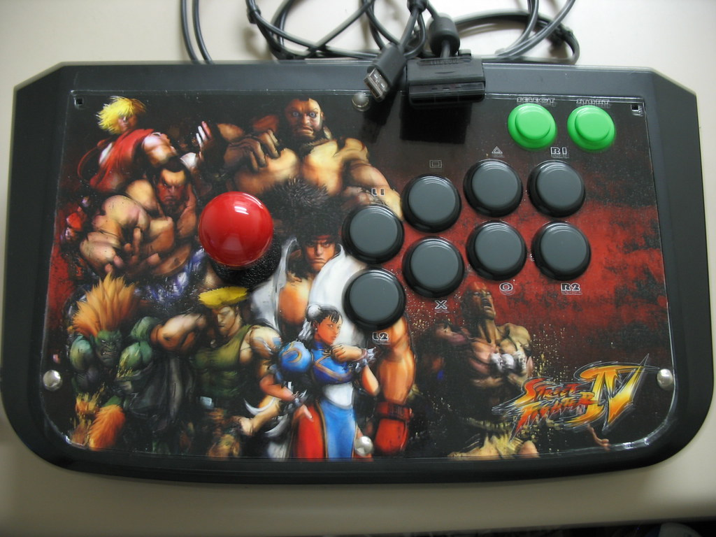 Tekken 5 Stick Mod Ps2 Xbox 360 O V Ega L2el Flickr