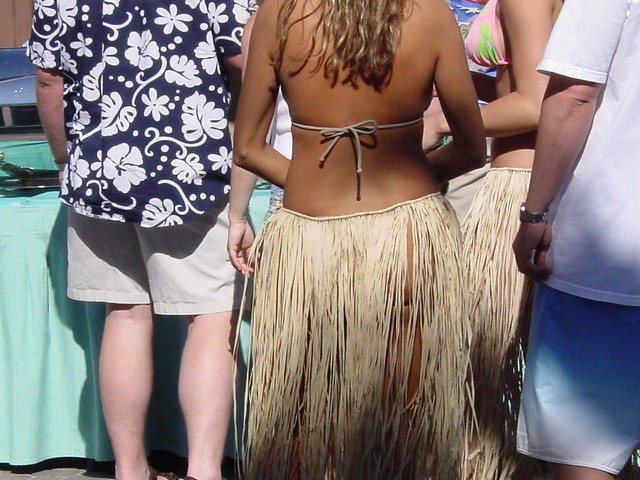 Jimmy Buffett Grass Skirt