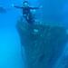 C-53 wreck dive, Cozumel