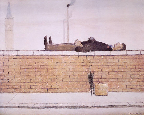 L S Lowry Man on the Wall | by mrrobertwade (wadey)