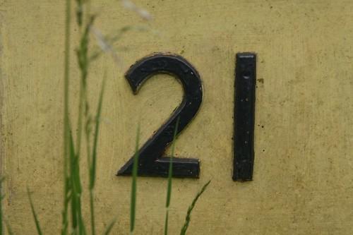 number 21   by jontintinjordan