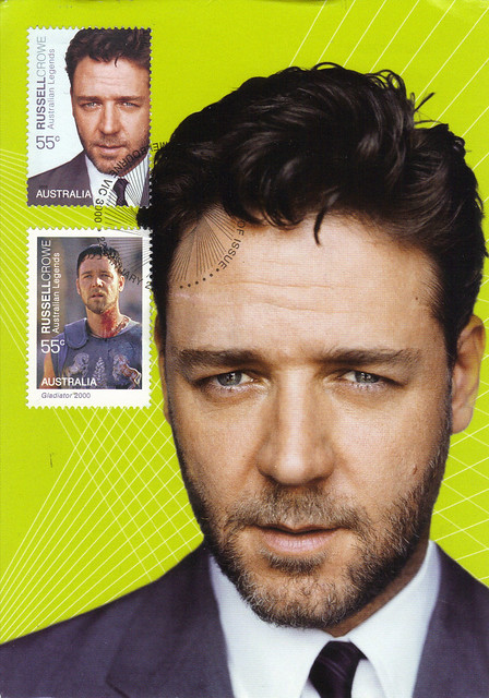Australia Maxi Card Russell Crowe Postcard