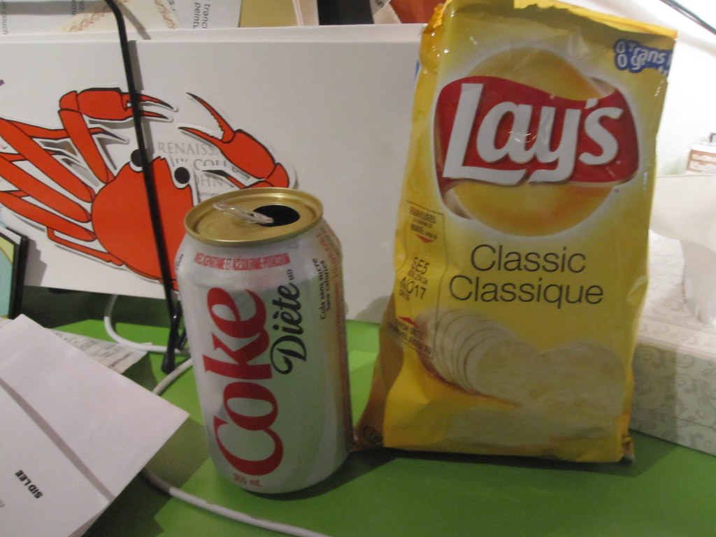 Diet Coke And Lays From The Machine 125 Eve Martel Flickr