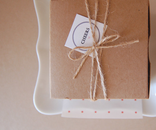 kraft boxes | by hooray design
