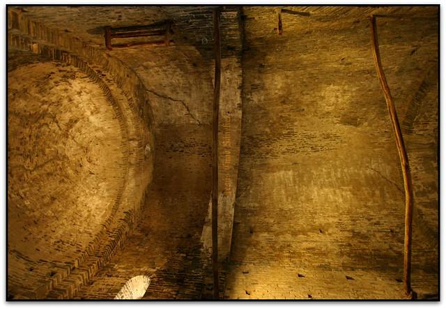 Volta zenital, Monestir de Sant Pere de Casserres, Les Masies de Roda (Osona)