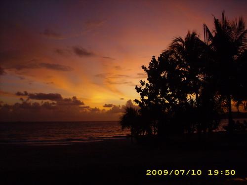 Sunset @ Pasir Tengah beach , Langkawi Island