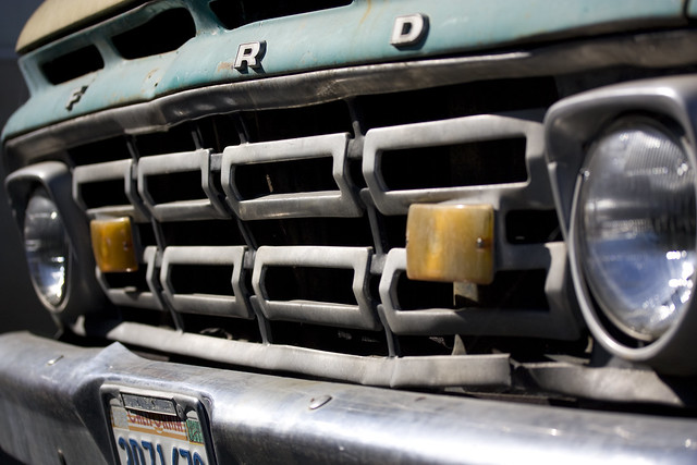 1964 Ford F-series grille
