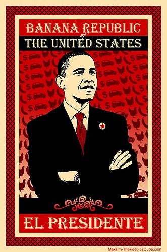 Les Etats-Unis racistes : Obama le singe