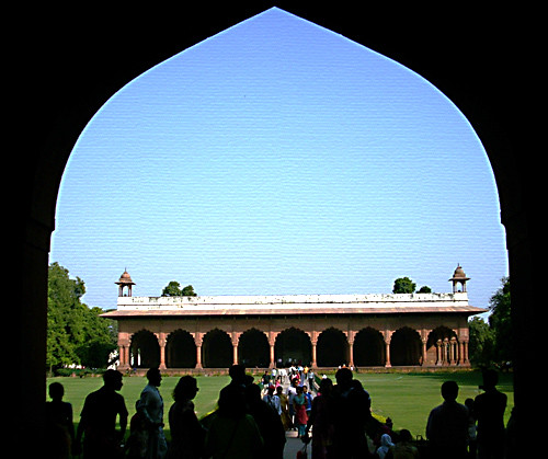 Royal entrance