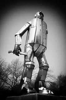The Tin Man, Oz Park, Chicago