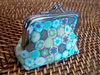 teeny coin purse