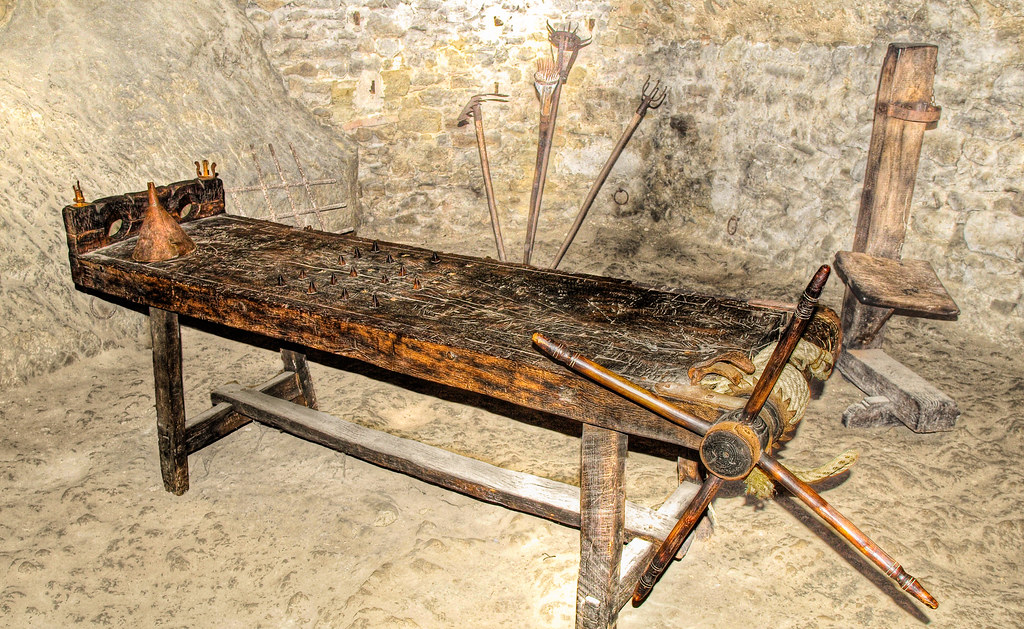 a1be03d21 Torture rack in the fortress of San Leo, Italy | The fortres… | Flickr