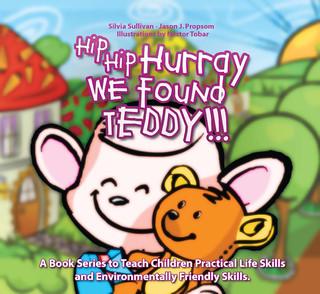 Hip hip hurray we Found Teddy