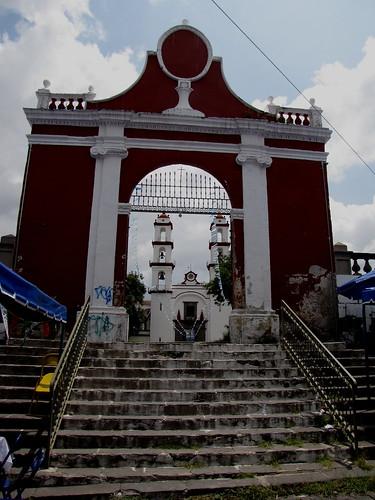 P8180313 Templo de la Santisima Trinidad Puebla.,Puebla. Mexico por LAE Manuel Vela