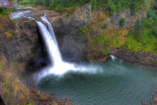 Snoqualmie falls - Observation Deck