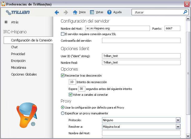 config-server Chat IRC Hispano   Red de Chat IRC-Hispano