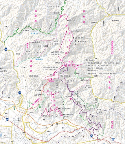 伊吹山山麓の登山道-伊吹山ネイチャーネットワーク | by ichitakabridge