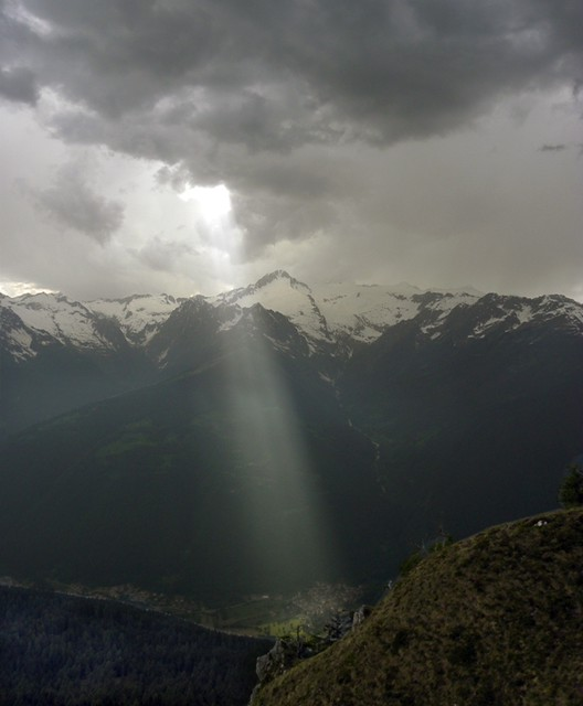 Raggio di luce su Borzago
