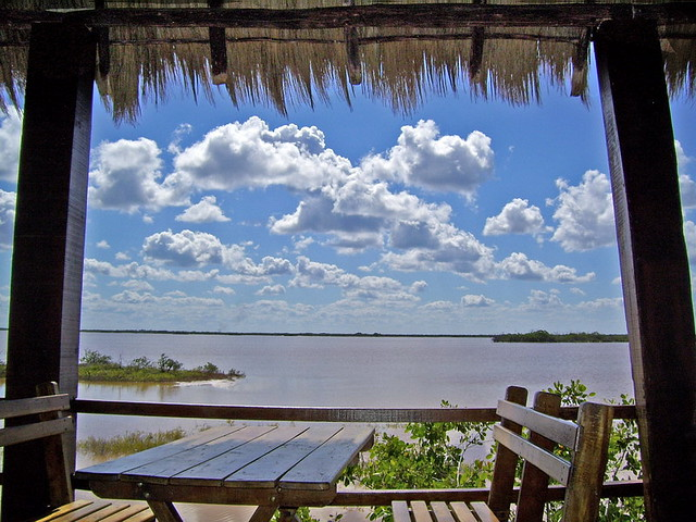 Terraza De Mi Casa Una Tarde Muy Calurosa En Uaymitun