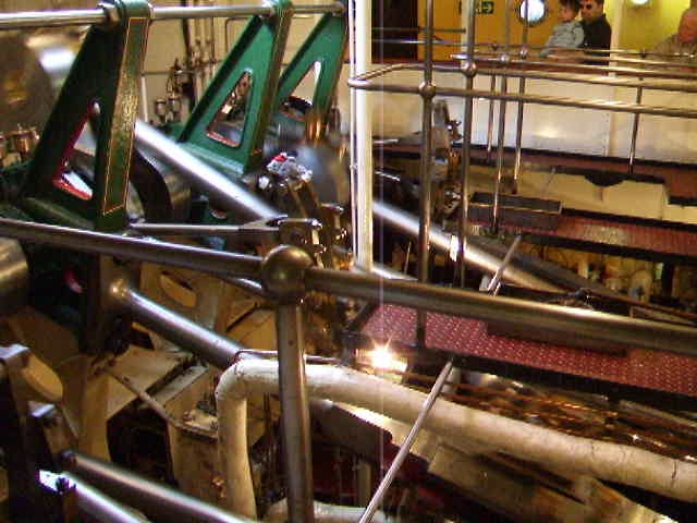 Waverley's triple-expansion engine in action