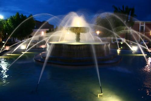Fuente parque del Carmen Puebla