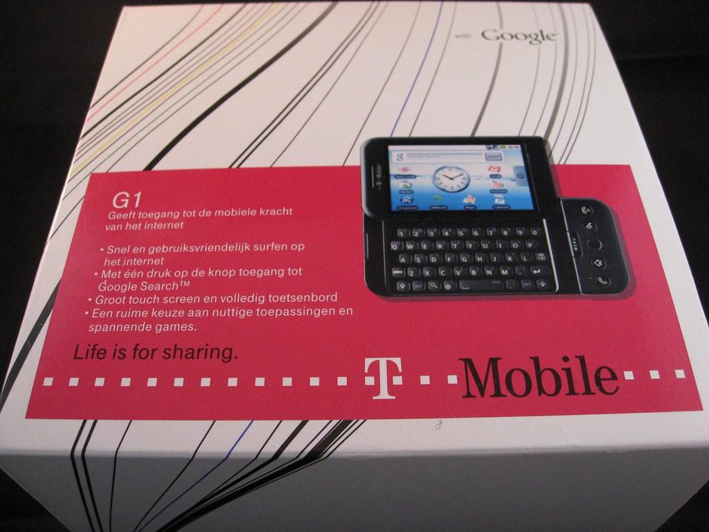 T Mobile Android Telefoon Buitendoos Pierre Gorissen