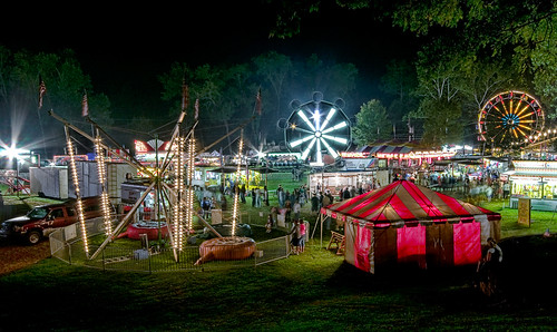 Night At The County Fair - Denver-Lancaster, PA | by Bob Jagendorf