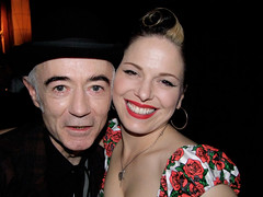 BP Fallon & Imelda May @ BB King's NYC where Imelda rocked up a storm supporting Chuck   by bp fallon