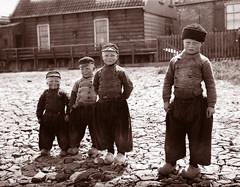 1904 Four Boys From Volendam