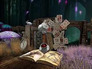 Through the Rabbit Hole - Time, Tea & A Few Good Books   by mromani50