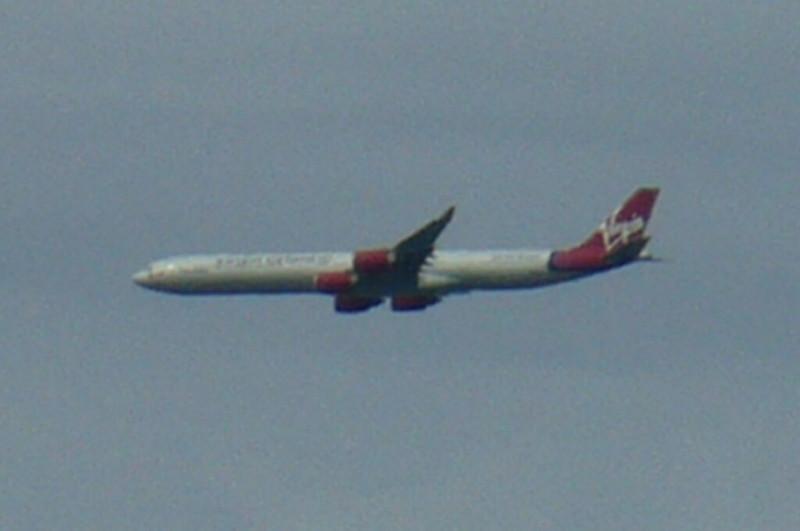 virgin aeroplane