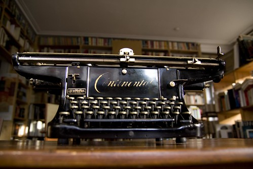 Continental typewriter | by shordzi