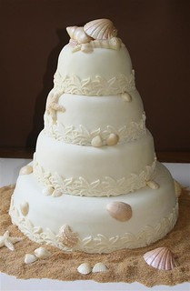 Seashell Wedding Cake | by Toni....