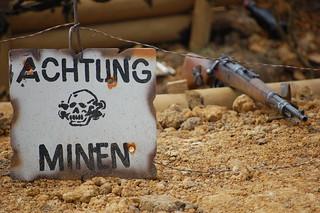 Minefield Warning + Kar98k | by Lemsipmatt