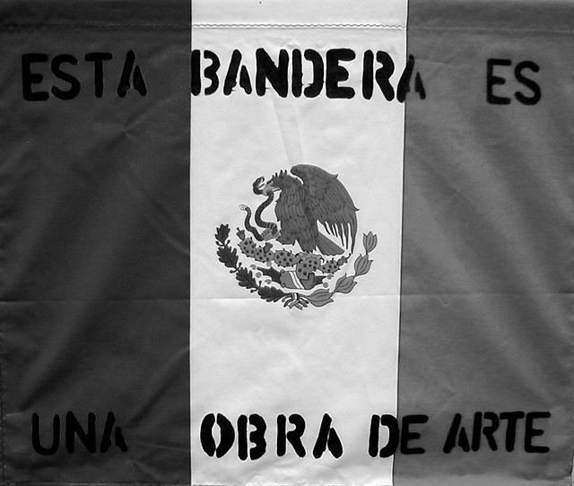 esta bandera es una obra de arte