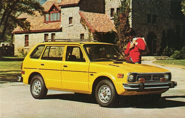 Honda Civic CVCC Wagon