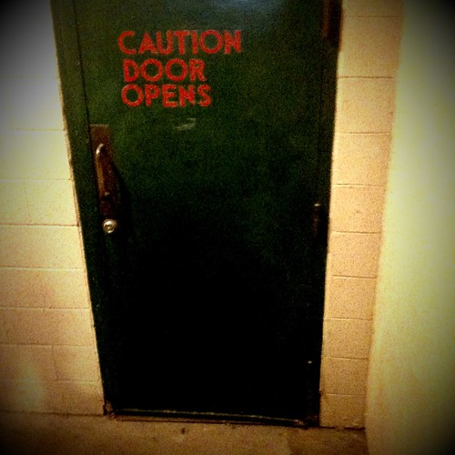 Caution Door Opens (Seattle / Pike Place Market) | by technotheory