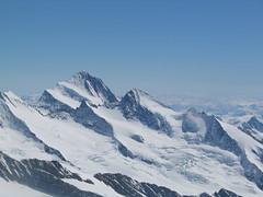Další nej… Na obzoru nejvyšší hora Bernských Alp – Finsteraarhorn 4.273 m.