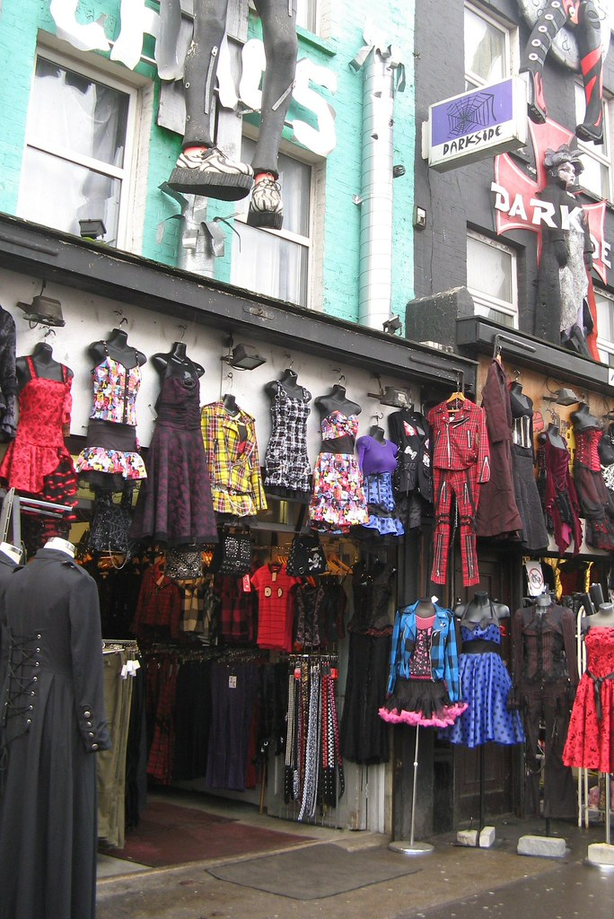 Vintage Clothing Shops On Camden Road London Www Iknow Lo Flickr