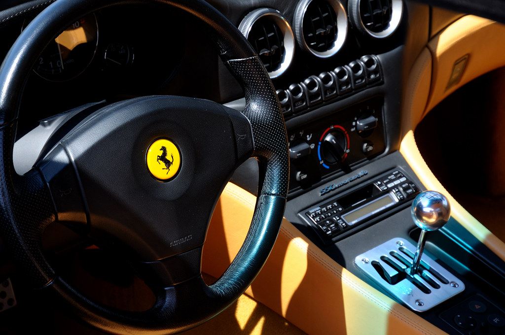 Ferrari 550 Maranello Interior Nikon D300 With 16 85vr Flickr
