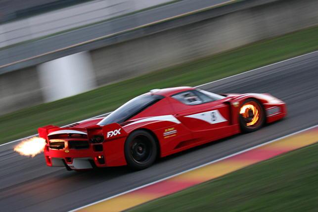 Ferrari FXX on Top Gear +The Stig Revealed!