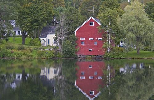 lake vermont greenmountains