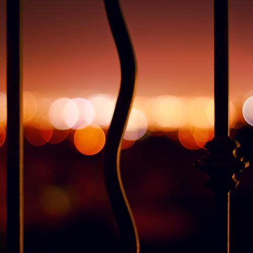 california longexposure light night bokeh 11 explore backlit railing 2009 pleasanton ledzeppelin ef50mmf18ii squarecrop ef50mmf18 photoshopcs3 lightroom2 amadorvalley
