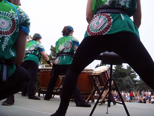 Today taiko is used at festivals around the world. | by PaMdora.