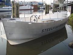 Verbazingwekkend steelfish rescue aluminium sloep tender consoleboot vlet   Flickr QO-33