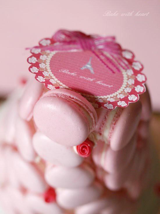 Macaron Croquembouche Wedding Cake Whipcream Spong Layer C Flickr