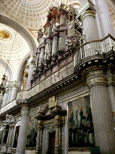 El órgano adentro