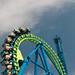 Upside down Rollercoaster Loop
